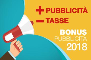 Il Bonus Pubblicità diventa operativo: un'imperdibile occasione per la tua pubblicità con AteneoWeb