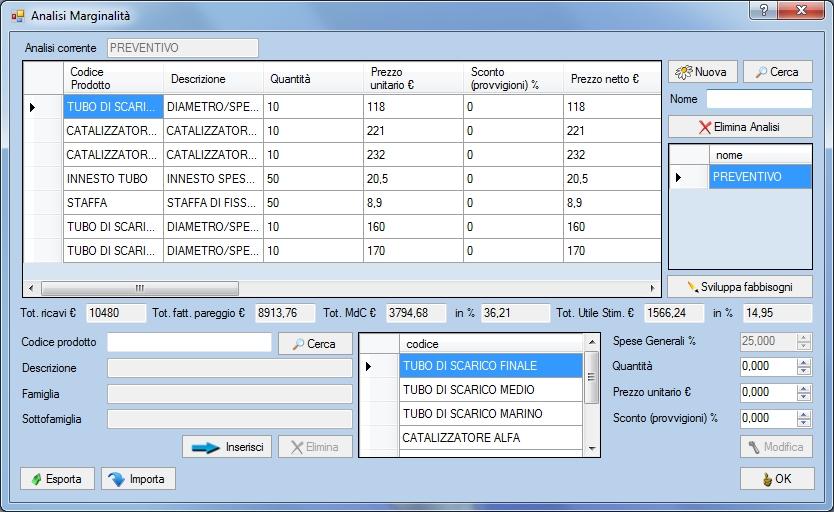 BUSSOLASTAR: il software di Controllo di Gestione e piccola Contabilità Industriale. Licenza singola - Immagine 3 / 4