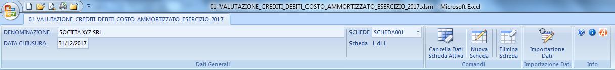 CREDITI DEBITI: valutazione costo ammortizzato 2017 - Immagine 1 / 12