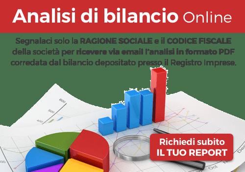 Analisi di Bilancio Online - richiedi subito il tuo report